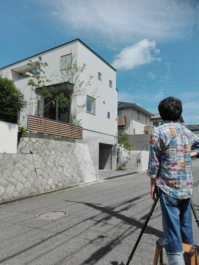 向陽台の家 写真撮影